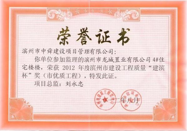 """""""建滨杯""""奖-龙城置业4#"""